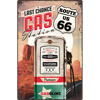 Route 66 Gas Station, US Highways, Tin Sign 40 x 60cm/A403