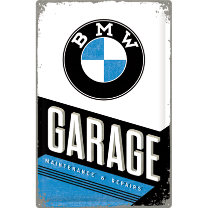 BMW - Garage, BMW, Tin Sign 40 x 60cm/A403