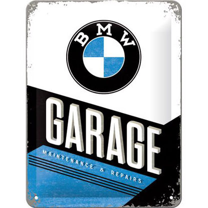 BMW - Garage, BMW Tin Sign 15 x 20cm