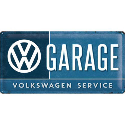 VW Garage, Volkswagen, Tin Sign 25 x 50cm