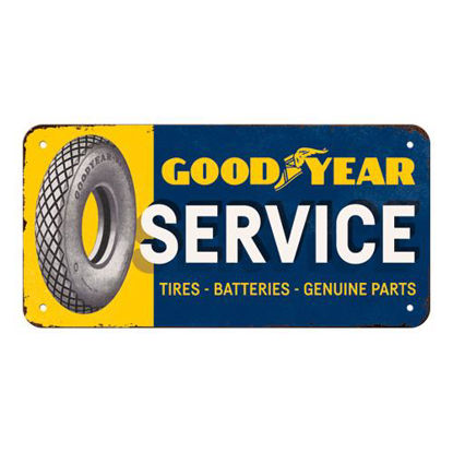Goodyear - Service, Goodyear, Hanging Sign, 20x0x10 cm