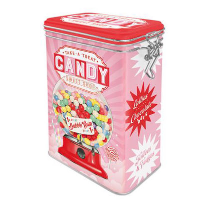 Candy, Home & Country, Clip Top Box, 11x18x8 cm/A406