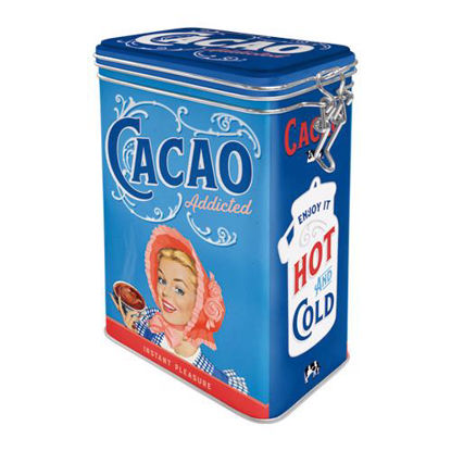 Cacao Addicted, Say it 50's, Clip Top Box, 11x18x8 cm/A406