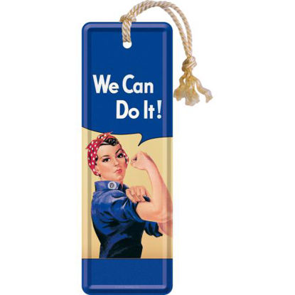 We can do it, USA Metal Bookmark, 15x0x5 cm/A408