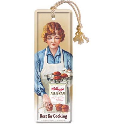 Kellogg's Best for Cooking, Kellogg's Metal Bookmark, 5x0x15 cm/A408