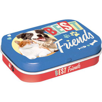 Best Friends Cat & Dog, Animal Club Mint Box, 6x2x4 cm/A412