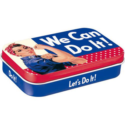 We Can Do It - Dots, USA Mintbox XL, 10x2x6 cm