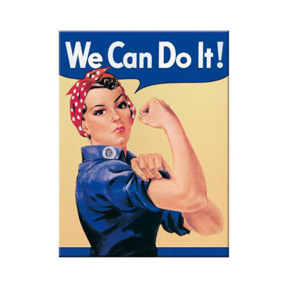 We can do it, USA Magnet, 8x0x6 cm/A401