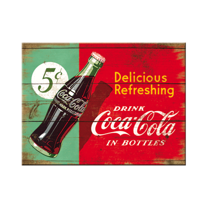 Coca-Cola - Delicious Refreshing Green,, Magnet, 8x0x6 cm/A401