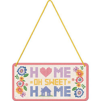Home Sweet Home, Home & Country Hanging Sign, 20x0x10 cm