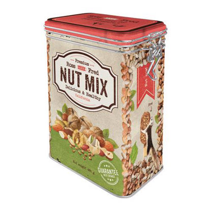 Nut Mix, Home & Country, Clip Top Box, 11x18x8 cm/A406