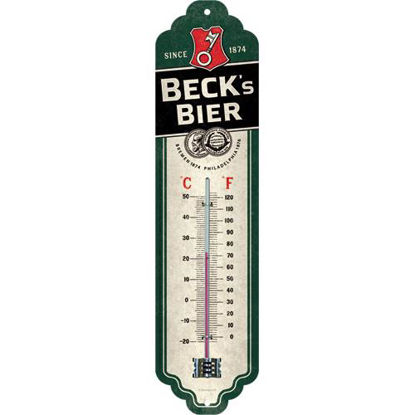Beck's - Logo Green, Beck's Thermometer, 28x0x7 cm/A411