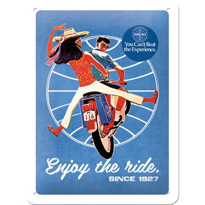 Pan Am - Enjoy the ride Tin Sign 15 x 20, Pan Am