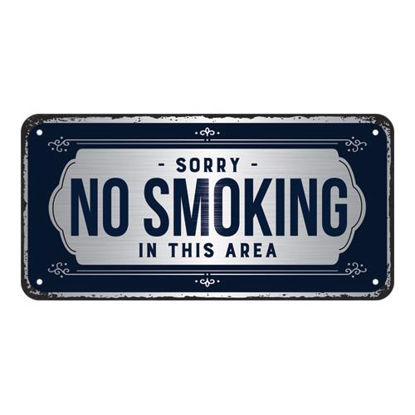 Sorry, No SmokingHanging Sign, Achtung