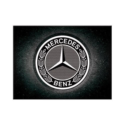 Mercedes-Benz - Logo Black Magnet   , Mercedes-Benz, A401