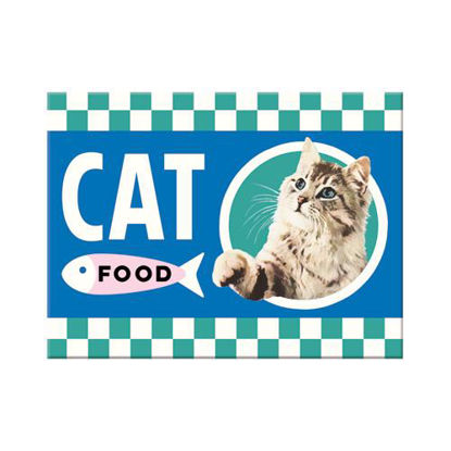 Cat Food Magnet   , Animal Club, A401