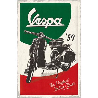 Vespa - The Italian Classic Tin Sign 40 x 60, Vespa