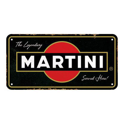 Martini - Served Here,   Hanging Sign, Martini