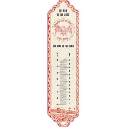 Bacardi - The King Of The Rums Thermometer, Bacardi, A411