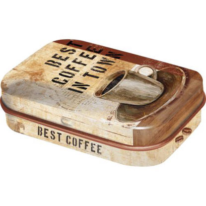 Best Coffee in Town, Coffee & Chocolate Mint Box, 6x1,6x4 cm