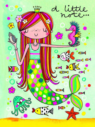 A Little Note - Mermaid - Pack of 5
