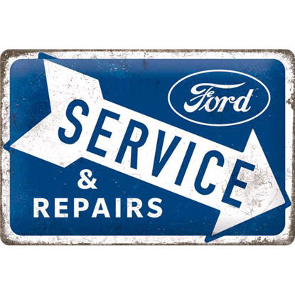 Ford - Service & Repairs, tin sign 20 x 30 , Ford