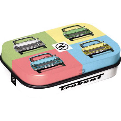 Trabant - Pop Art, mint box, Trabant