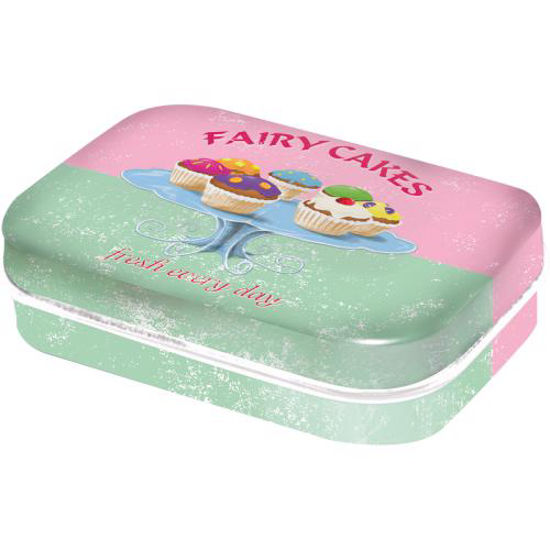 Fairy Cakes - Fresh every Day, Home & Co Mint Box, 6x1,6x4 cm
