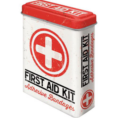 First Aid Kit - Classic, Plaster Boxes, 7x3x10 cm/A414