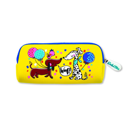 Neoprene Pencil Cases - Dogs & Cats, 195x90x30mm