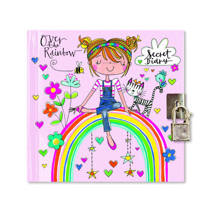 Secret Diary - Over the Rainbow, 141x147mm