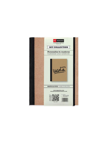 NOTE BOOK A5 80 PLAIN RECYCLED W/ ELASTI