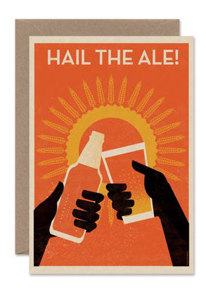 HAIL THE ALE, Hail the ale card/PORTRAIT