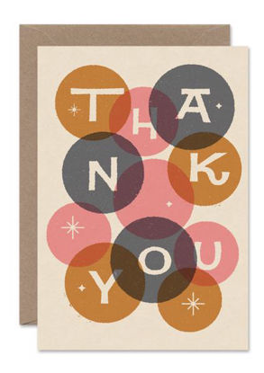THANK YOU, Thank you bubbles card/PORTRAIT