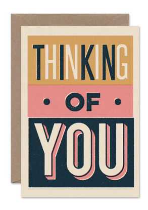 THINKING OF YOU, Thinking of you type block card/PORTRAIT