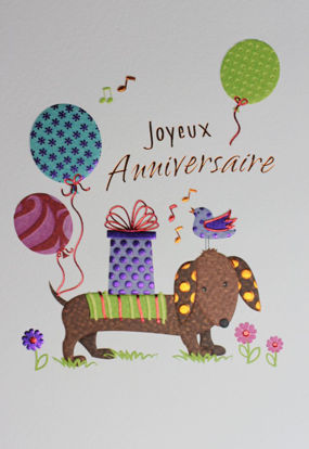 Gratulatione by Alessia Happy Birthday / Französischer Text