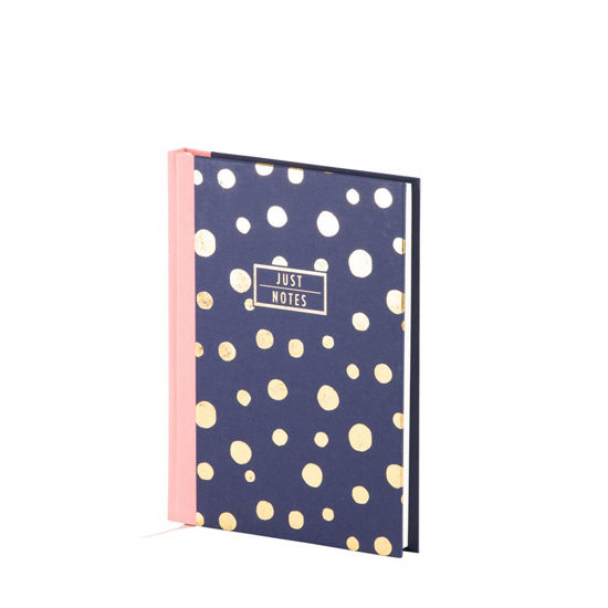 Just Notes - Dots geb.Buch-192/A5, dotted grid, offwhite