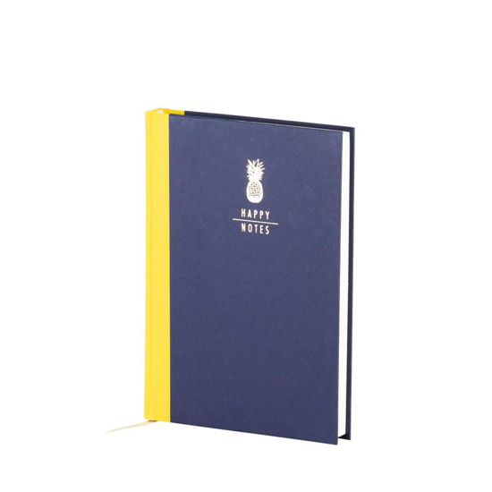 Just Notes-Ananas,Happy Notes,geb.Buch,192/A5 dot.grid,offw.