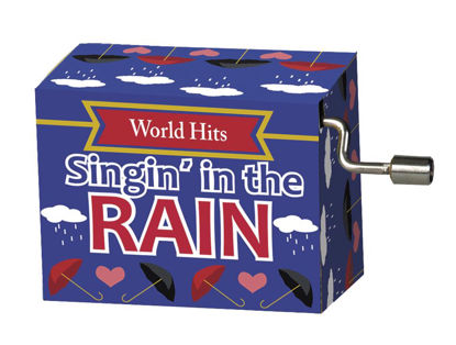 Spieluhr, Singin`in the rain, World-Hits