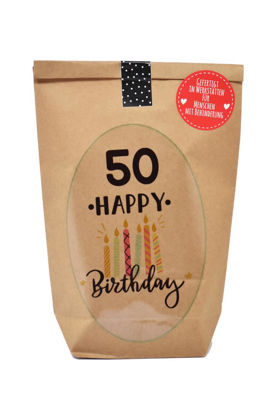 50 Happy Birthday Wundertüte, ca. 14x22cm
