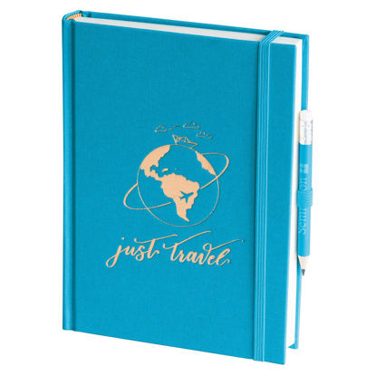 Grand Voyage blanko turquoise, Just Travel Edition, 272 Seiten, Gewicht 0.509