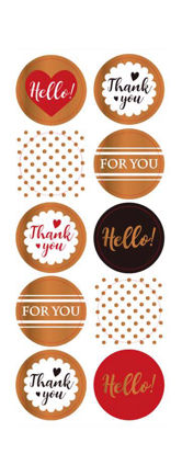 My Journal Sticker, For you, Thank you (2 Sheets)