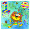 Chatterbox - Age 1 Lion with Balloon