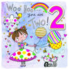 Chatterbox - Age 2 Girl with Balloons