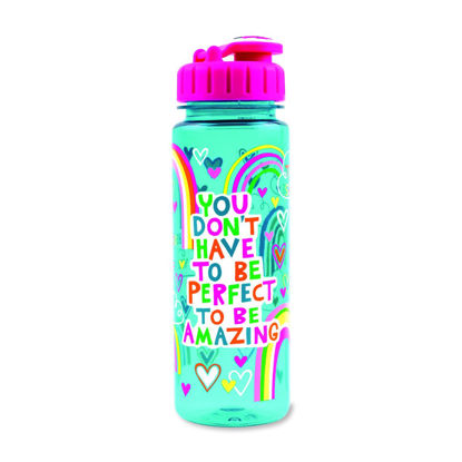 Wasserflasche 350ml - You don't have to be perfect to be awesome, 63x205mm