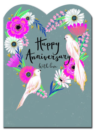 Delilah - Happy Anniversary/Birds & Flor