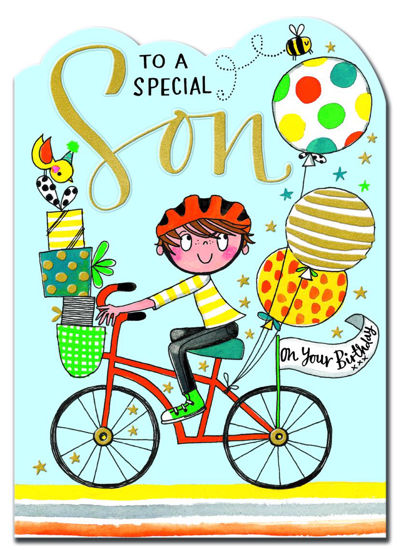 Fred & Ginger - Special Son Boy on Bike