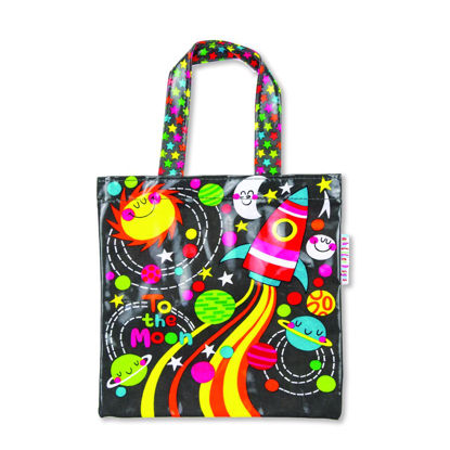 Tragtasche klein - To The Moon, 200x200mm