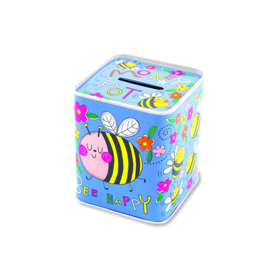 Spardose - Money Pot/Bees, 92x77x77mm