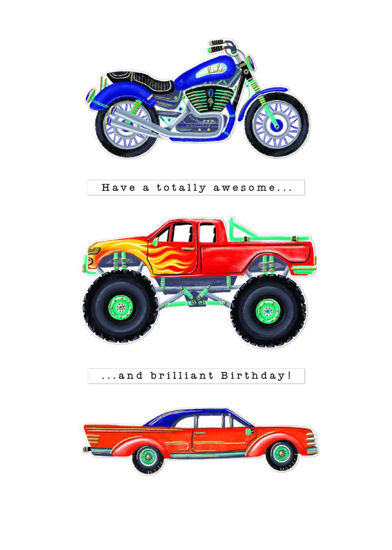 Pronto - Birthday/Vehicles